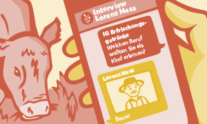 Ausgewogenheit: ob bei der Ernährung oder der Berichterstattung – für Lorenz Hess eine Herzensangelegenheit.